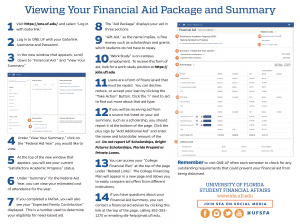 2020 21 Financial Aid Packages | UF Office for Student Financial